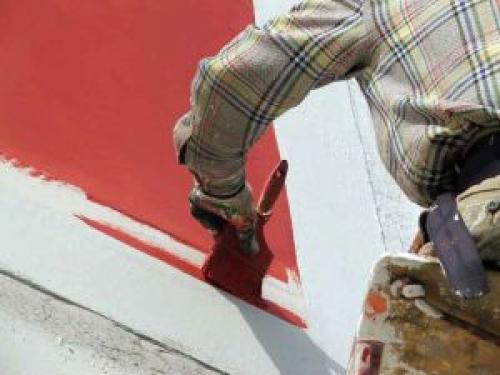 Покраска фасада. Как красить фасад дома