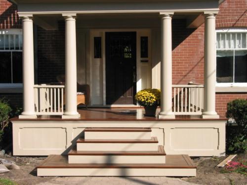 Проект крыльца частного дома. Крыльцо к дому — примеры стильного и красивого оформления входа в дом (135 фото и видео)