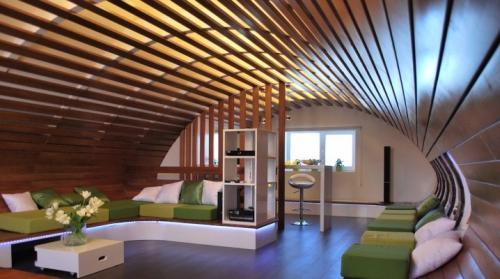 Реечный подвесной потолок. Реечный потолок: виды и особенности конструкции