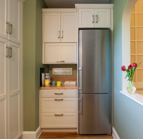 Как холодильник спрятать в комнате. Как холодильник спрятать в шкаф