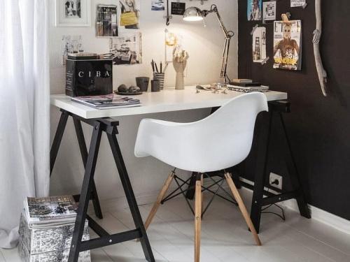 Компактное рабочее место. Маленькое рабочее место: 10 вдохновляющих идей