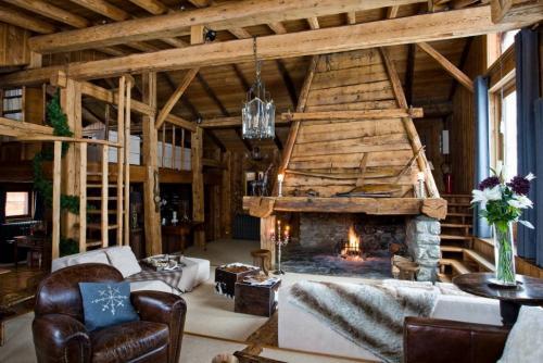 Дизайн интерьера в стиле шале. Чем отличается архитектура и стиль шале