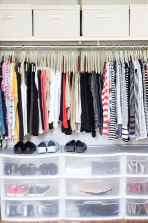 Порядок в шкафу с одеждой лайфхаки. 10 лайфхаков для организации идеального порядка в шкафу