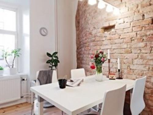 Отделка стен под белый кирпич. Отделка стен под кирпич: стилистика помещения и дизайн