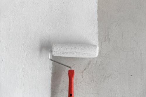 Покрасить стены в ванной. Покраска
