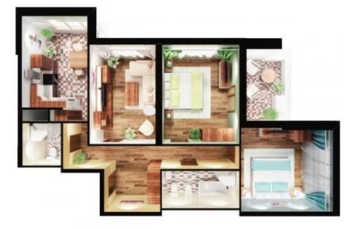 Удачные планировки трехкомнатных квартир. Особенности планировки