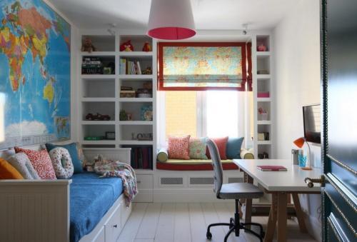 Дизайн детской комнаты в хрущевке: особенности оформления (+40 фото)