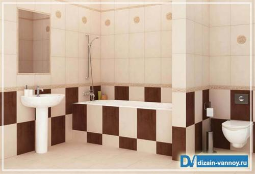 Материалы для отделки для ванной комнаты. Отделка стен плиткой