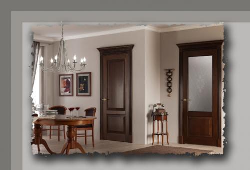 Как подобрать к интерьеру межкомнатные двери. Межкомнатные двери: как правильно подобрать цвет двери, чтобы она гармонично смотрелась в интерьере