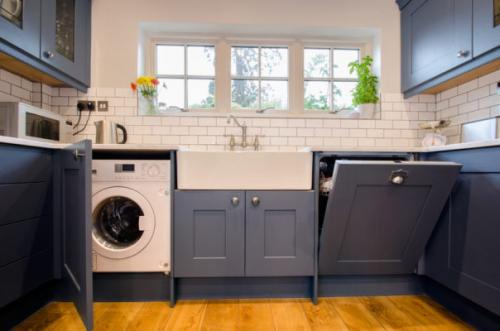 Куда поставить стиральную машину. Ванная или кухня — взвесим все за и против