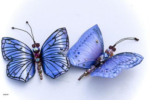 Бабочки из пластиковых бутылок своими руками пошагово для начинающих. Сверкающая бабочка из пластиковой бутылки