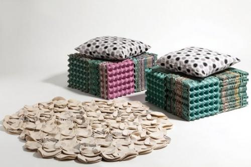Поделки из коробок из под яиц. Оригинальные поделки, которые можно смастерить из обычных картонок для яиц