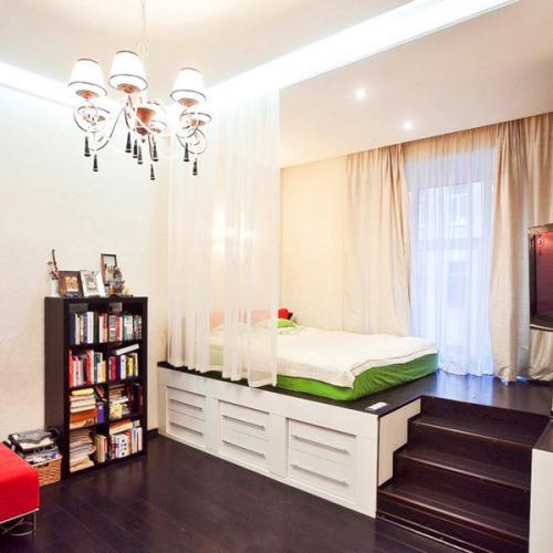 Ремонт квартиры 1 комнатной. Функциональное зонирование в ремонте 1 комнатной квартиры