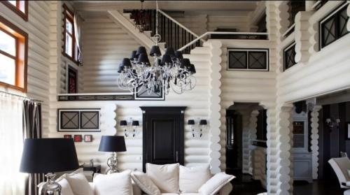 Интерьер комната из дерева. Создаем стильный интерьер деревянного дома