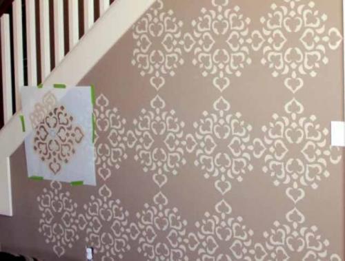 Простые рисунки на стене своими руками. Перенос изображения на стену