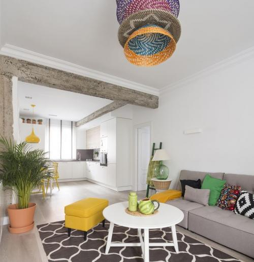 Студия интерьера. Цветовые решения маленькой квартиры