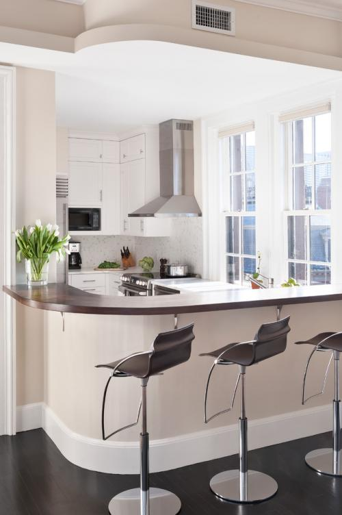 Вход в комнату через кухню. Кухня при входе в квартиру: проект оптимизации пространства от Эмили Пинни