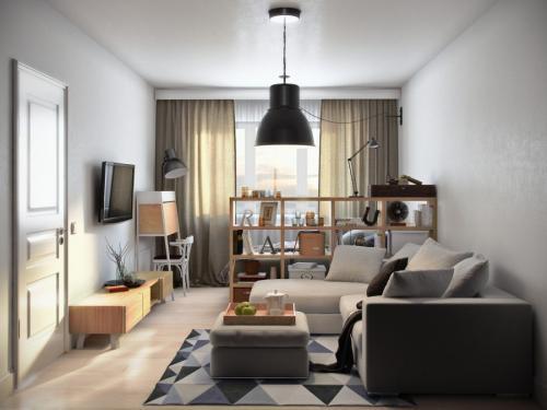Дизайн квартиры 40 кв м современный. Особенности дизайна небольших квартир