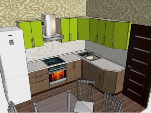 Как самому спроектировать кухню. Выбор цвета помещения