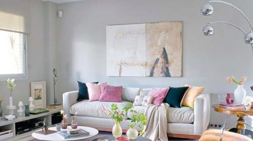 Цвет в интерьере гостиной. Правила сочетания цветов в интерьере гостиной