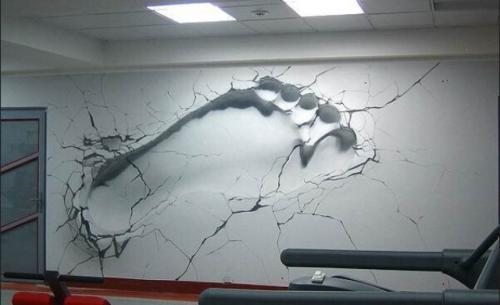 Рисунки своими руками на стенах в комнате. Художественная роспись стен своими руками