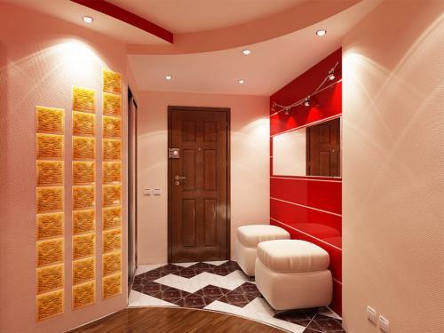 Дизайн ремонт в коридоре. Зонирование коридора и прихожей