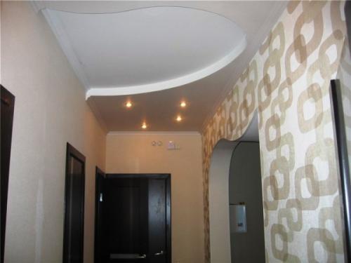 Идеи для ремонта прихожей. Оформляем потолок. Идеи для освещения прихожей