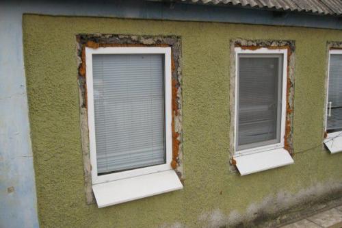 Из чего делают откосы для пластиковых окон внутри. Как сделать наружные откосы для пластикового окна?