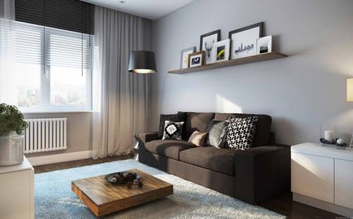 Дизайн 1 комнатных квартир. Дизайн однокомнатной квартиры — 150 фото в интерьере