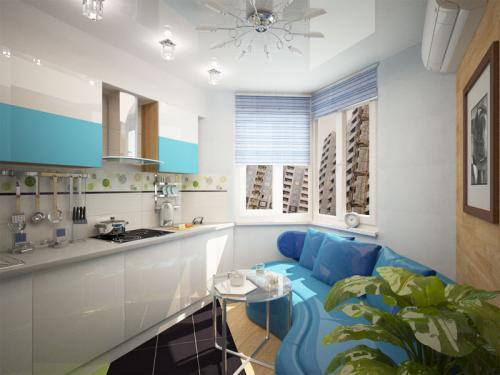 Дизайн кухни в доме серии п 44т с эркером. Несколько советов по дизайну кухни с эркером п44т