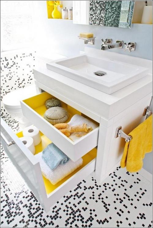Как организовать пространство в ванной комнате. Лучшие идеи правильной организации пространства в ванной комнате, здорово упрощающие жизнь