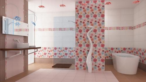 Вместо плитки в ванной, что можно использовать. Что можно использовать вместо плитки для отделки ванной комнаты