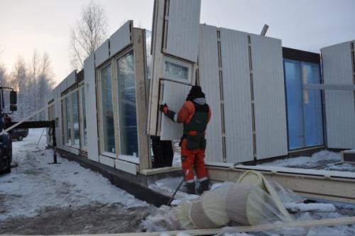 Каркасный дом по финской технологии. Типы скандинавских каркасных домов