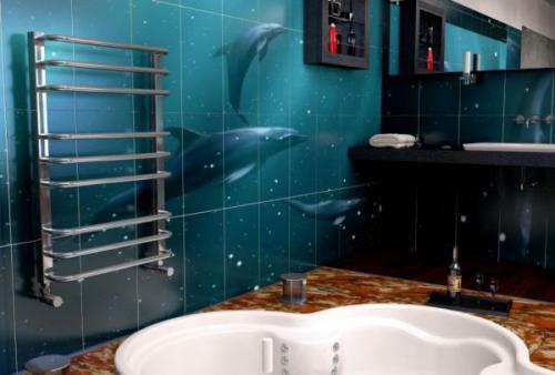 Змейка в ванной. Функции прибора