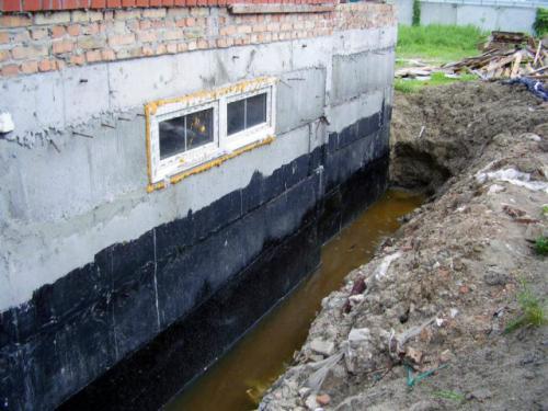 Нужна ли гидроизоляция фундамента в земле. Зачем нужна гидроизоляция