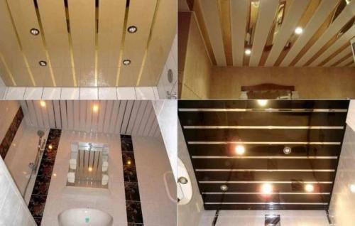 Потолки из алюминиевых панелей в ванной комнате. Причины популярности реечных потолков в ванной комнате