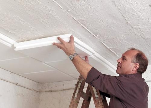 Бюджетный ремонт потолка. Какой материал самый дешевый для отделки потолка