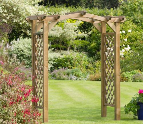 Во дворе арка. Садовая арка — советы и инструкции по постройке своими руками (120 фото-идей)