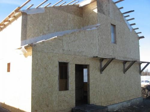 Как построить дом самому щитовой дом. Щитовое строительство: конструктивные особенности технологии