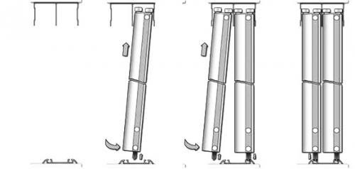Как установить двери шкафа купе. Инструкция по установке